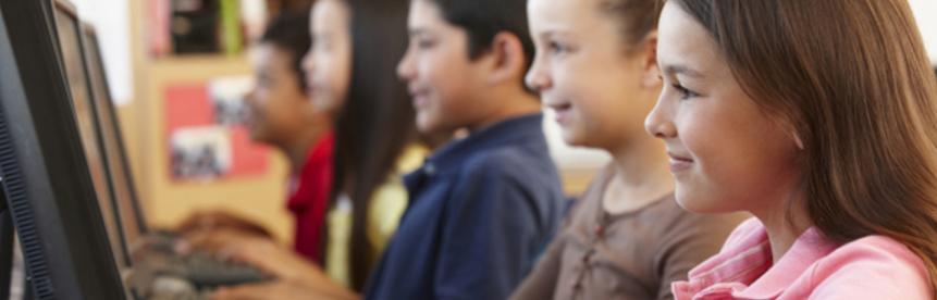 Des cours d'informatique à l'école primaire